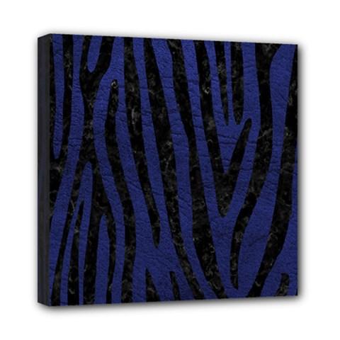 SKN4 BK-MRBL BL-LTHR Mini Canvas 8  x 8