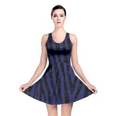 SKN4 BK-MRBL BL-LTHR Reversible Skater Dress