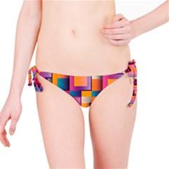 Abstract Background Geometry Blocks Bikini Bottom