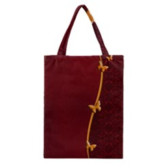 Greeting Card Invitation Red Classic Tote Bag