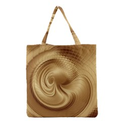 Gold Background Texture Pattern Grocery Tote Bag