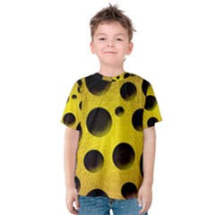 Background Design Random Balls Kids  Cotton Tee