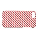 Pattern Red White Background Apple iPhone 7 Hardshell Case View1