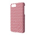 Pattern Red White Background Apple iPhone 7 Hardshell Case View2