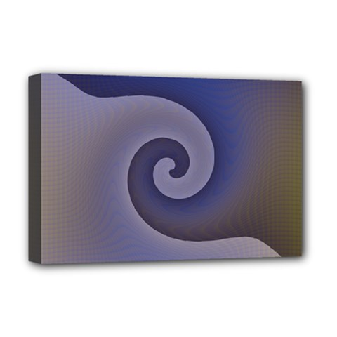 Logo Wave Design Abstract Deluxe Canvas 18  x 12