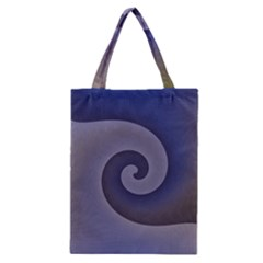 Logo Wave Design Abstract Classic Tote Bag