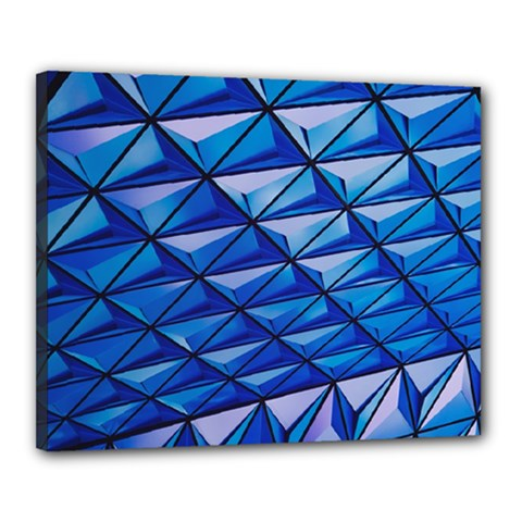 Lines Geometry Architecture Texture Canvas 20  x 16