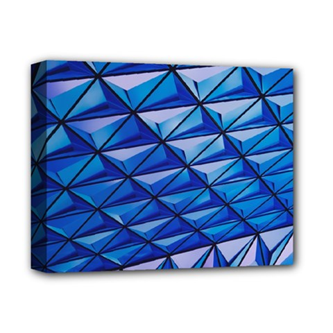 Lines Geometry Architecture Texture Deluxe Canvas 14  x 11