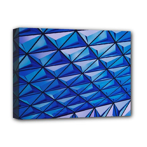 Lines Geometry Architecture Texture Deluxe Canvas 16  x 12