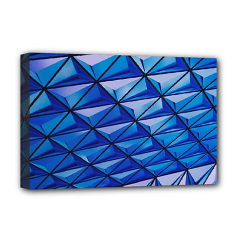 Lines Geometry Architecture Texture Deluxe Canvas 18  x 12