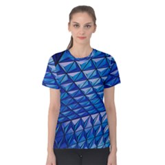 Lines Geometry Architecture Texture Women s Cotton Tee