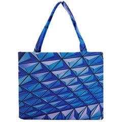 Lines Geometry Architecture Texture Mini Tote Bag