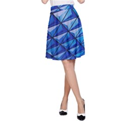 Lines Geometry Architecture Texture A-Line Skirt