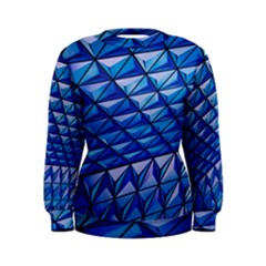 Lines Geometry Architecture Texture Women s Sweatshirt