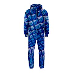Lines Geometry Architecture Texture Hooded Jumpsuit (kids)