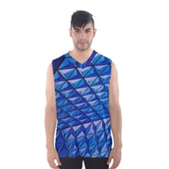 Lines Geometry Architecture Texture Men s Basketball Tank Top
