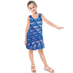 Lines Geometry Architecture Texture Kids  Sleeveless Dress