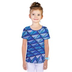Lines Geometry Architecture Texture Kids  One Piece Tee