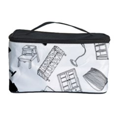 Furniture Black Decor Pattern Cosmetic Storage Case