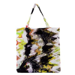 Canvas Acrylic Digital Design Grocery Tote Bag