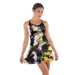 Canvas Acrylic Digital Design Cotton Racerback Dress
