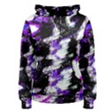Canvas Acrylic Digital Design Women s Pullover Hoodie View1