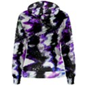 Canvas Acrylic Digital Design Women s Pullover Hoodie View2