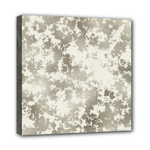 Wall Rock Pattern Structure Dirty Mini Canvas 8  x 8