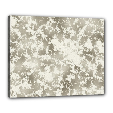 Wall Rock Pattern Structure Dirty Canvas 20  X 16