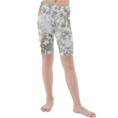 Wall Rock Pattern Structure Dirty Kids  Mid Length Swim Shorts