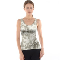 Wall Rock Pattern Structure Dirty Tank Top