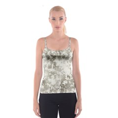 Wall Rock Pattern Structure Dirty Spaghetti Strap Top