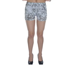 Wall Rock Pattern Structure Dirty Skinny Shorts