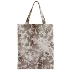 Wall Rock Pattern Structure Dirty Zipper Classic Tote Bag