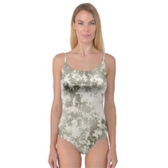 Wall Rock Pattern Structure Dirty Camisole Leotard