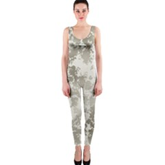 Wall Rock Pattern Structure Dirty OnePiece Catsuit