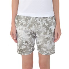 Wall Rock Pattern Structure Dirty Women s Basketball Shorts