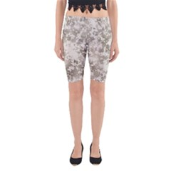 Wall Rock Pattern Structure Dirty Yoga Cropped Leggings