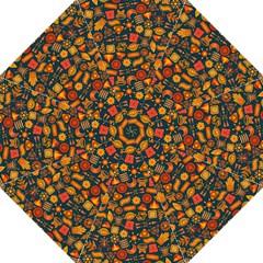 Pattern Background Ethnic Tribal Hook Handle Umbrellas (medium)