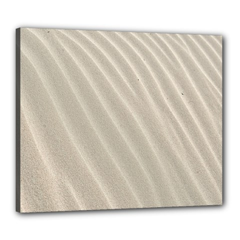 Sand Pattern Wave Texture Canvas 24  X 20