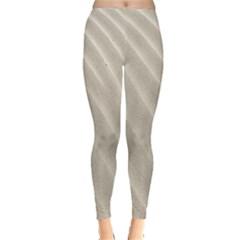 Sand Pattern Wave Texture Leggings
