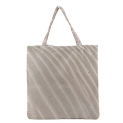 Sand Pattern Wave Texture Grocery Tote Bag