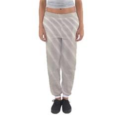 Sand Pattern Wave Texture Women s Jogger Sweatpants