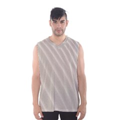 Sand Pattern Wave Texture Men s Basketball Tank Top
