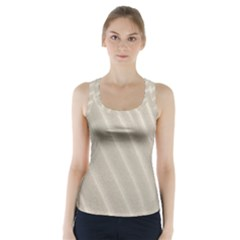 Sand Pattern Wave Texture Racer Back Sports Top