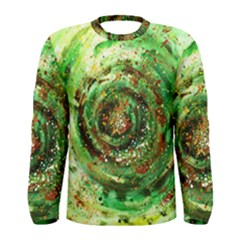 Canvas Acrylic Design Color Men s Long Sleeve Tee