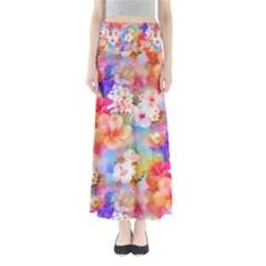 Tropical Hawaiian Garden  Maxi Skirts