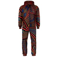 Random Inspiration Hooded Jumpsuit (Men)