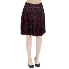 Random Pink Black Red Pleated Skirt