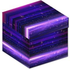 Space Planet Pink Blue Purple Storage Stool 12